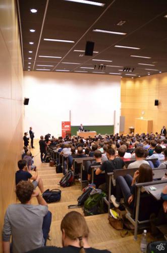 Sigmar Gabriel Diskussion 09.07.15